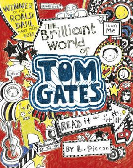 Cover of The Brilliant World of Tom Gates