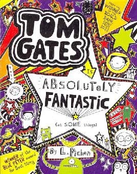 Cover of Tom Gates Is Absolutely Fantastic (at Some Things)