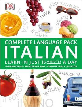 Cover of complete language pack italian