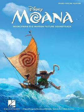 Cover of Disney Moana Music From the Motion Picture Soundtrack : Piano, Vocal, Guitar