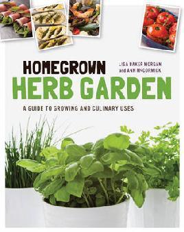Cover of Homegrown herb garden