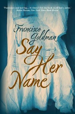 Cover of Say her name