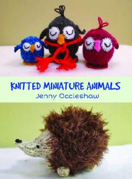 Cover of knitted miniature animals