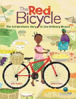Cover of The red bicycle
