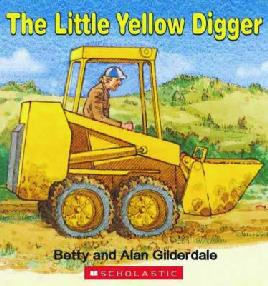 Cover of The Little Yellow Digger