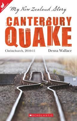 Book cover of canterbury quake