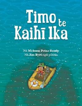 Book Cover of Timo te Kaihi Ika