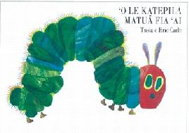 Book cover of the very hungry caterpillar