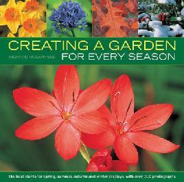 Book cover of creating a garden for every season
