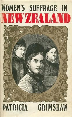 Cover of Women's Suffrage in New Zealand