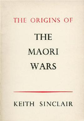 Cover of The origins of the Māori wars