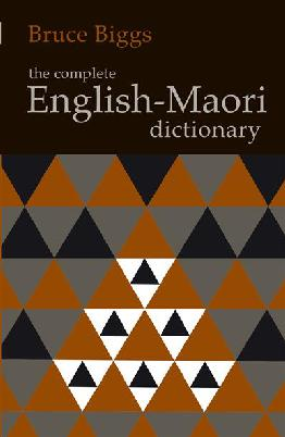 Cover of The Complete Māori-English Dictionary