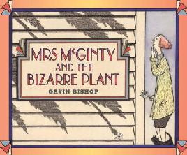 Cover of Mrs McGinty and The Bizarre Plant