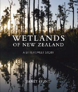 cover: Wetlands of New Zealand, a bitter-sweet story