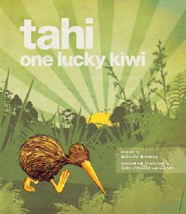 Cover of Tahi - One Lucky Kiwi