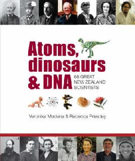 Cover of Atoms, Dinosaurs & DNA