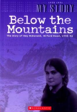 Book Cover of Below the Mountains