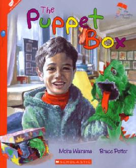 Cover of The puppet box