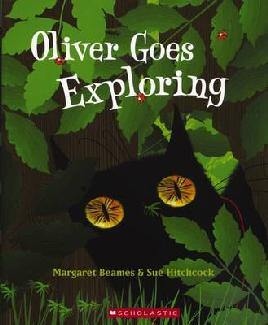Book Cover of Oliver Goes Exploring
