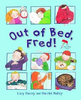 Catalogue link for Out of bed, Fred!