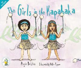 Cover of The girls in the kapa haka