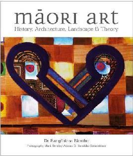 Cover of Māori art: History, architecture, landscape and theory