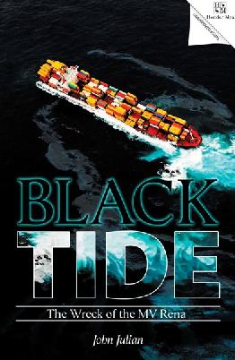 "Book cover: ""Black Tide"""