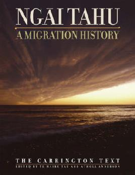 Cover of Ngāi Tahu: A migration history