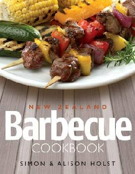 Cover of Simon Holst's New Zealand Barbecue Cookbook