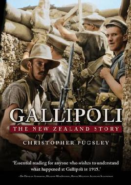 Cover of Gallipoli: The New Zealand story
