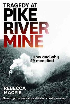 Cover of Tragedy at Pike River MIne