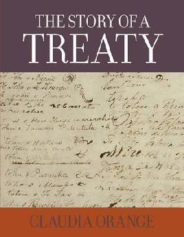 Cover of The Story of a treaty