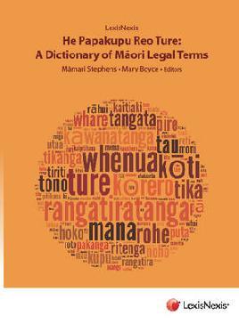 Cover of He Papakupu Reo Ture