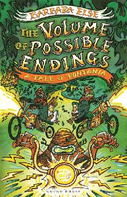 Cover of The volume of possible endings
