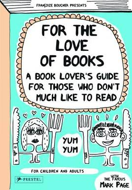 Book cover of for the love of books