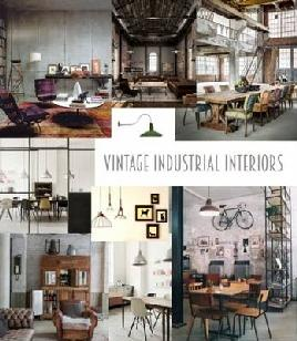 Cover for Industrial Vintage Interiors