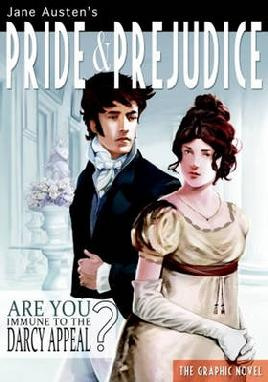 Cover of Jane Austen's Pride and Prejudice graphic novel