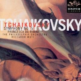Cover of Tchaikovsky symphony no. 5
