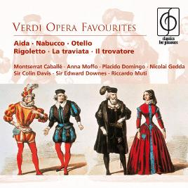 Cover of Verdi opera favourites