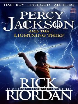 Cover of Percy Jackson and the lightning thief
