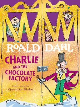 Book cover of Charlie and the chocolate factory