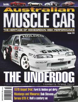 Cover of Australian muscle car magazine