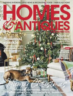 Cover of Homes & Antiques