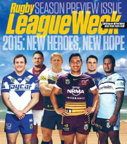 Cover of Rugby league week