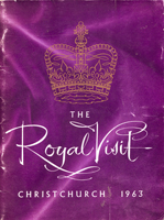 Cover of The Royal Visit, Christchurch 1963